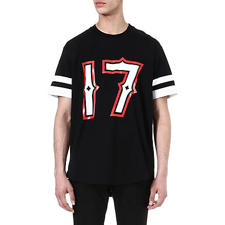 GIVENCHY 17 t-shirt (Black