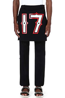 GIVENCHY 17 apron with side-fastening