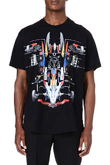 GIVENCHY Car print t-shirt