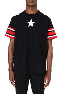 GIVENCHY Stars and stripes t-shirt
