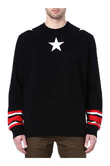 GIVENCHY Stars cotton sweatshirt