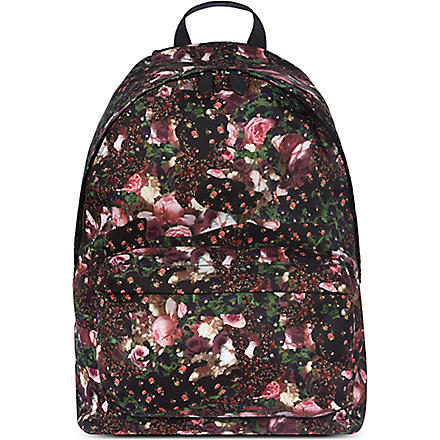 GIVENCHY Roses camo backpack (Pink
