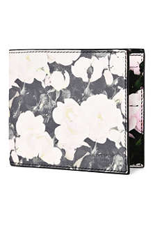 GIVENCHY Faded floral travel wallet