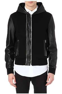 GIVENCHY Hooded bomber jacket