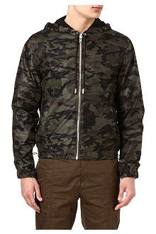 GIVENCHY Perforated camo jacket