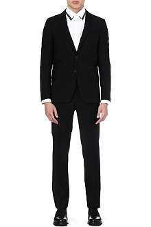 GIVENCHY Wool and mohair-blend suit
