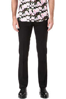 GIVENCHY Button seam slim-fit trousers