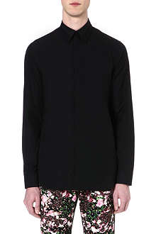 GIVENCHY Metal collar-stay slim-fit shirt