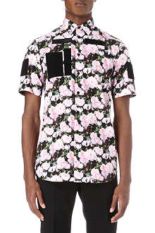 GIVENCHY Roses cotton shirt