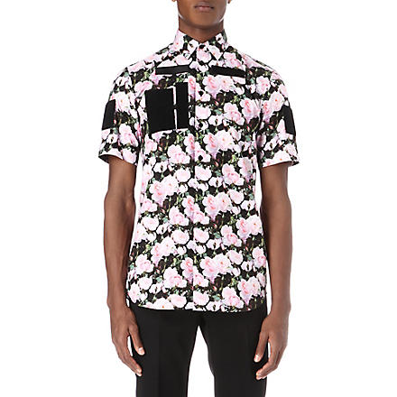 GIVENCHY Roses cotton shirt (Pink