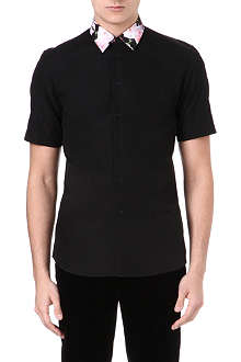 GIVENCHY Roses collar shirt