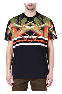 GIVENCHY Birds of paradise t-shirt