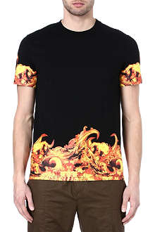 GIVENCHY Flames t-shirt