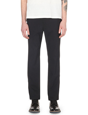 JIL SANDER Wool-blend trousers