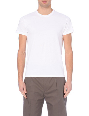 JIL SANDER Crew-neck cotton t-shirt