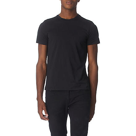 JIL SANDER Crew-neck t–shirt (Black