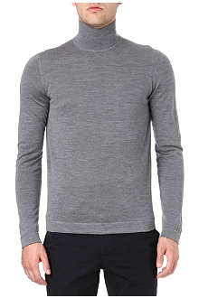 JIL SANDER Knitted roll neck jumper