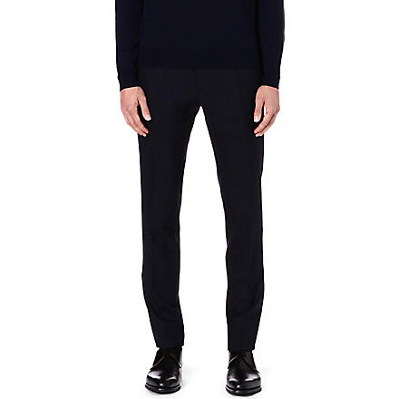 JIL SANDER Slope-back trousers (Navy