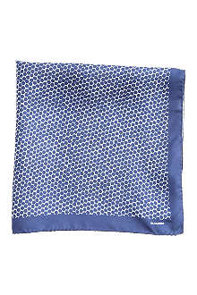JIL SANDER Hex print pocket square