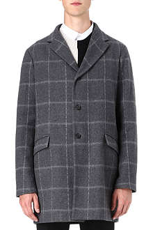 JIL SANDER Beethoven check coat