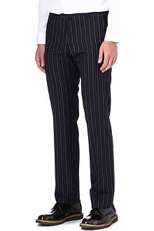 JIL SANDER Bert slim-fit pinstriped trousers