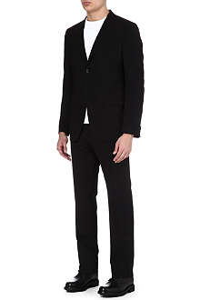 JIL SANDER Angela Antoni single-breasted wool-blend suit