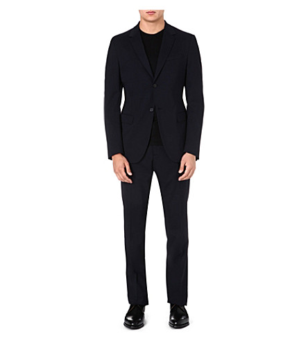 JIL SANDER Replenish regular-fit suit (Navy