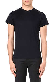 JIL SANDER Bi-colour crew-neck t-shirt