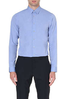 JIL SANDER Fitted cotton shirt