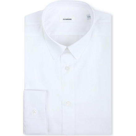 JIL SANDER Slim-fit single-cuff shirt (White