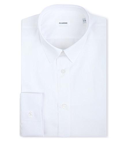 JIL SANDER Slim-fit single-cuff shirt (White