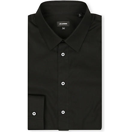 JIL SANDER Baia slim-fit shirt (Black