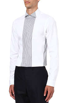 JIL SANDER Banda fine stripe panel shirt