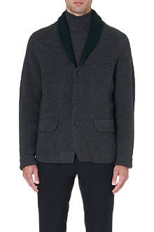 JIL SANDER Shawl-collar wool cardigan