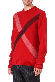 JIL SANDER Needle punch knitted jumper