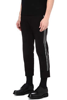 JIL SANDER Carl side-stripe trousers