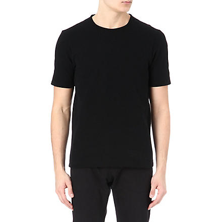 JIL SANDER Oversized plain t-shirt (Black