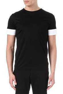 JIL SANDER Panel sleeve t-shirt