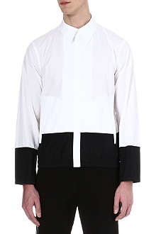 JIL SANDER Block-panelled shirt
