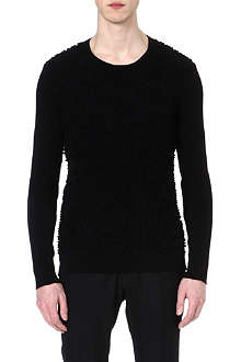 JIL SANDER Bobble knit jumper