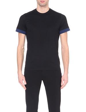 JIL SANDER Contrast-trim cotton t-shirt