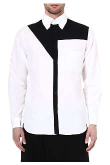 YOHJI YAMAMOTO Block panel button-down shirt