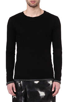 YOHJI YAMAMOTO Double-layered long-sleeve t-shirt