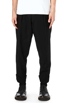 YOHJI YAMAMOTO Adjustable belt wool trousers