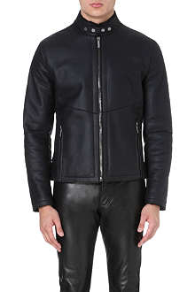 ROBERTO CAVALLI Shearling leather jacket