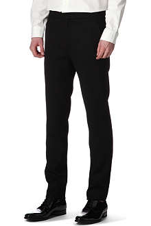 GARETH PUGH Slim stretch-wool suit trousers