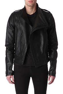GARETH PUGH Razor leather biker jacket