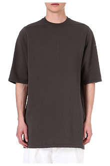 RICK OWENS DRKSHDW Short-sleeved long sweatshirt