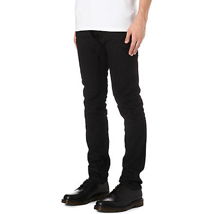 RICK OWENS DRKSHDW Detroit slim-fit straight jeans (Black