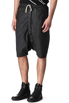 RICK OWENS DRKSHDW Drop-crotch shorts